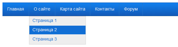 Как сделать выпадающее меню для вашего сайта