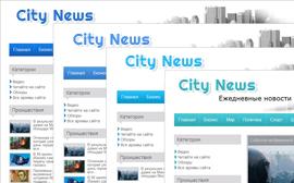 Шаблон новостного сайта City_News